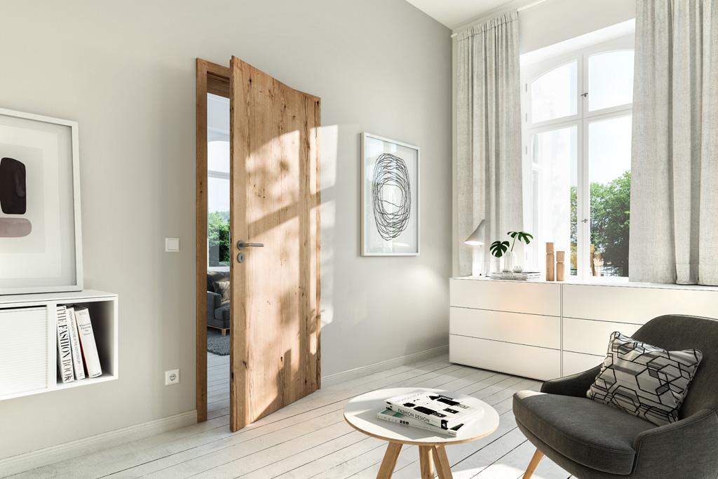 Wohnraumtuer HUGA Almeiche Holz