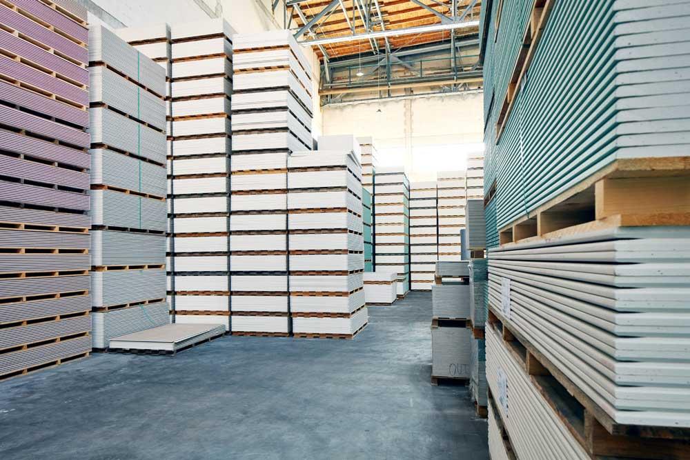 Ausbau Gipskartonplatten